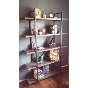Стеллаж Стеллаж Loft Bookcases 5 полок купить в интернет магазине Москва