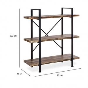 Консоль LOFT Bookcases 3 полки для дома и офиса на заказ