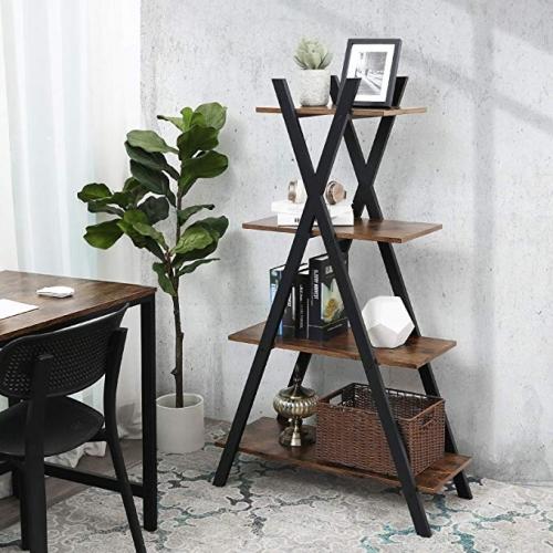 Стеллаж «Ladder»  в стиле «Loft» купить в интернет магазине Москва
