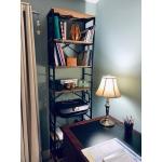 Фото Loft cтеллаж «Square» c 5 полками для дома и офиса