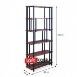 Фото loft стеллаж «Parallel line» для офиса и дома
