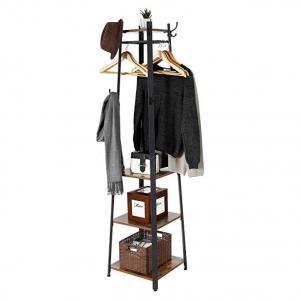 Вешалка «Coat Rack» в стиле Loft с тремя полками