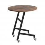 Приставной стол «Сircle» в стиле «Loft» купить в интернет магазине