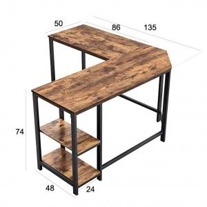 Компьютерный стол «Corner Desk» в стиле «Loft» заказать в интернет магазине