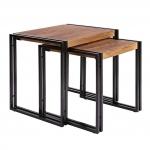 Столик-тумба «Nesting Tables» в стиле «Loft» заказать в интернет магазине
